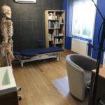 Ostéopathe le puy en velay Fabien Crozatier, salle de soin